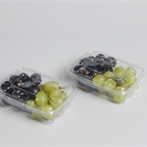 grapes PET tray